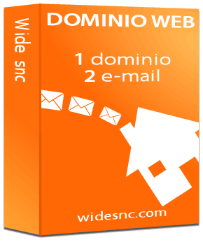Registrazione dominio ed account email